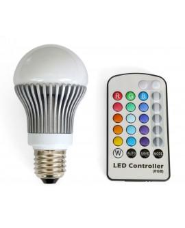 LED-pirn mitmevärviline