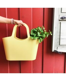 T-Basket pastelne kollane